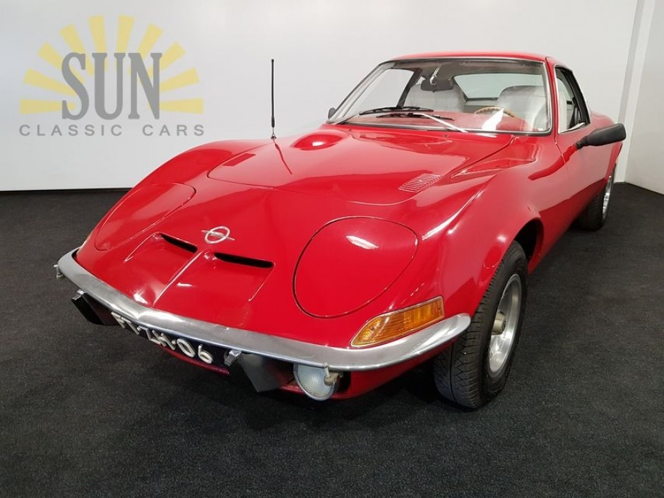 opel gt 1973 for sale at sun classic cars. Black Bedroom Furniture Sets. Home Design Ideas