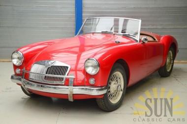 MGA cabriolet 1957