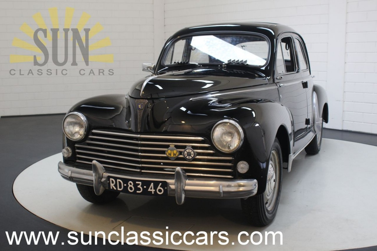 Peugeot 203 1954 For Sale At Sun Classic Cars